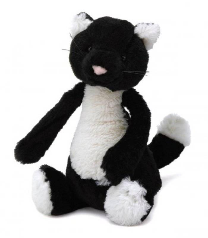 jellycat peluche chat noir petit doudouplanet. Black Bedroom Furniture Sets. Home Design Ideas