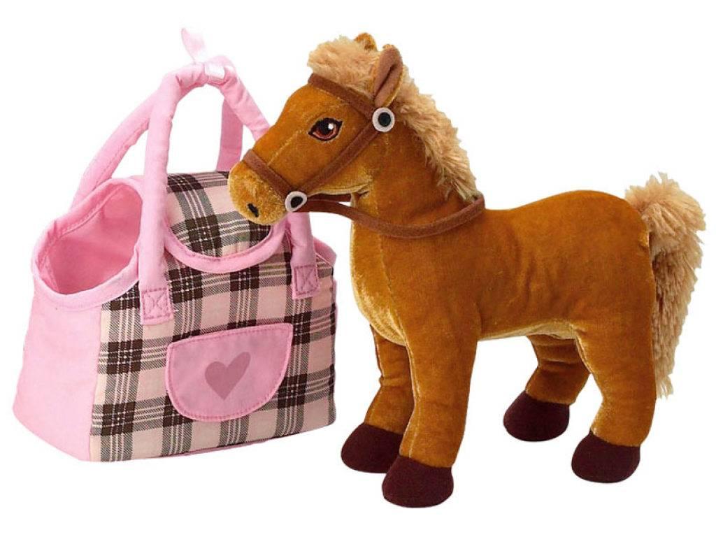 Jemini peluche cheval prancer grand galop sac main - Grand galop le cheval volant ...