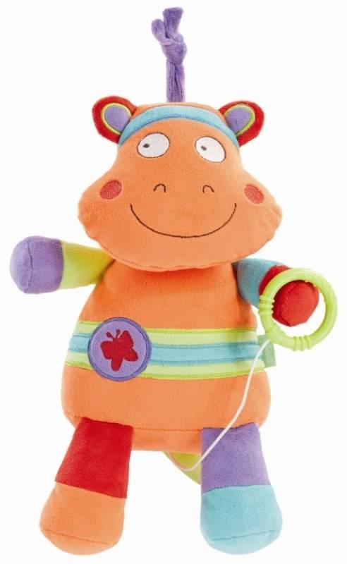 Peluche Musicale Et Lumineuse : babysun peluche hippopotame musicale et lumineuse colorado ~ Teatrodelosmanantiales.com Idées de Décoration