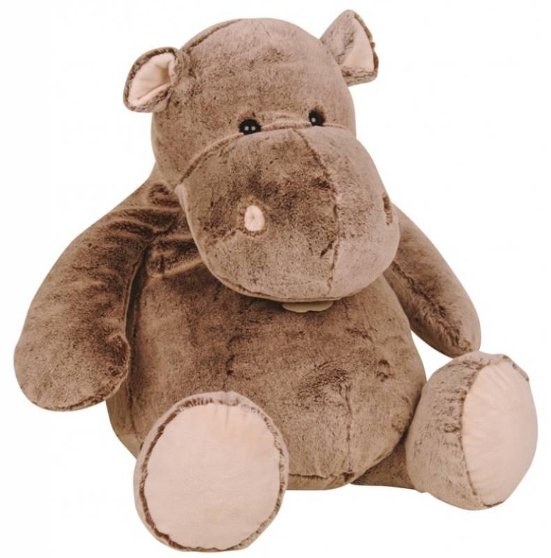 histoire d ours peluche hippopotame zanimoos 65 cm. Black Bedroom Furniture Sets. Home Design Ideas