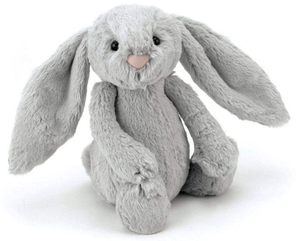 jellycat peluche lapin bashfuls gris 31 cm. Black Bedroom Furniture Sets. Home Design Ideas