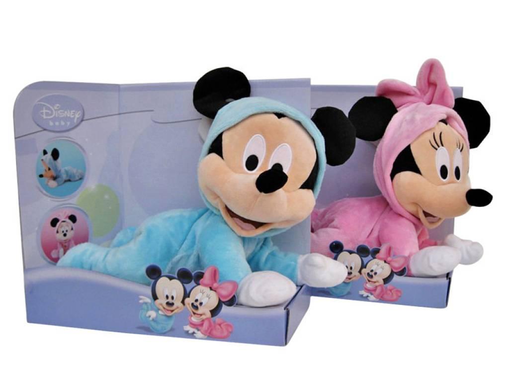 Disney peluche minnie b b rampant 30 cm - Personnage disney bebe ...
