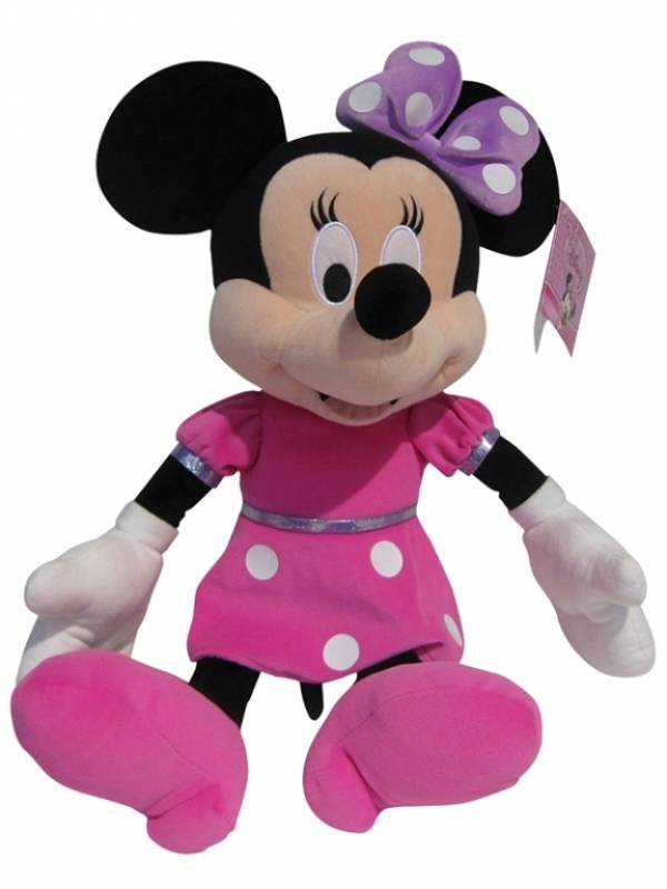 disney peluche minnie shimmer party 55 cm. Black Bedroom Furniture Sets. Home Design Ideas
