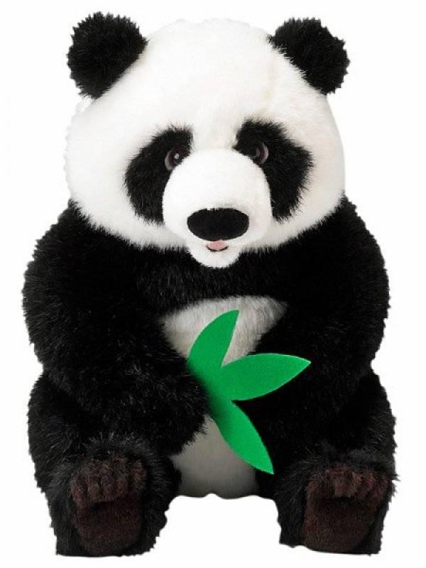 national geographic peluche panda 25 cm. Black Bedroom Furniture Sets. Home Design Ideas