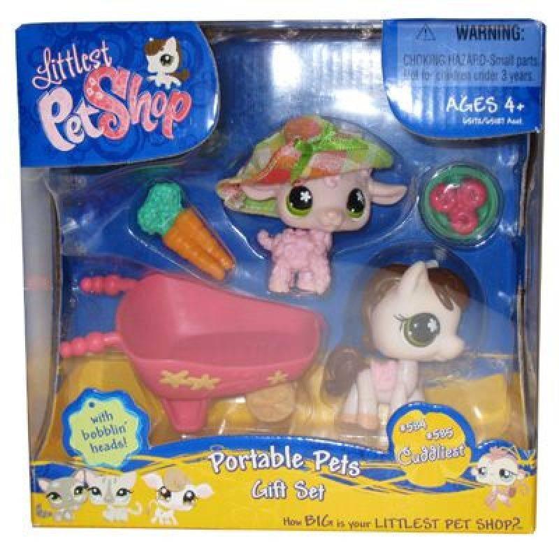 Hasbro petshop duo voyage cheval et mouton - Cheval petshop ...