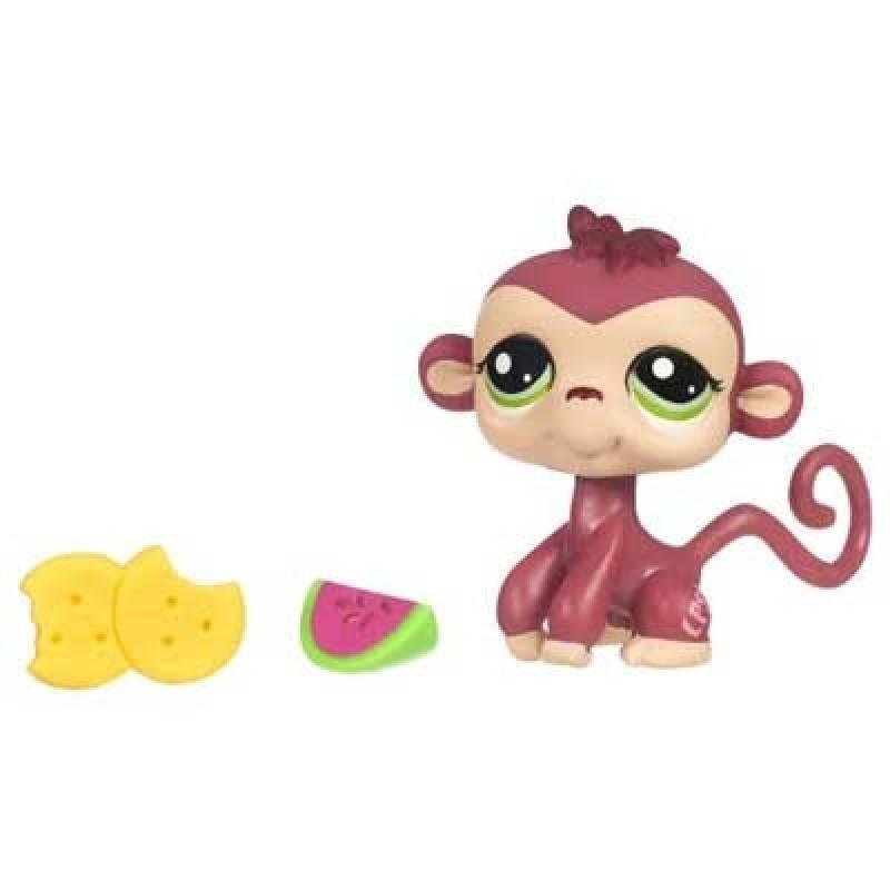 Hasbro petshop petit sac singe doudouplanet - Petshop singe ...