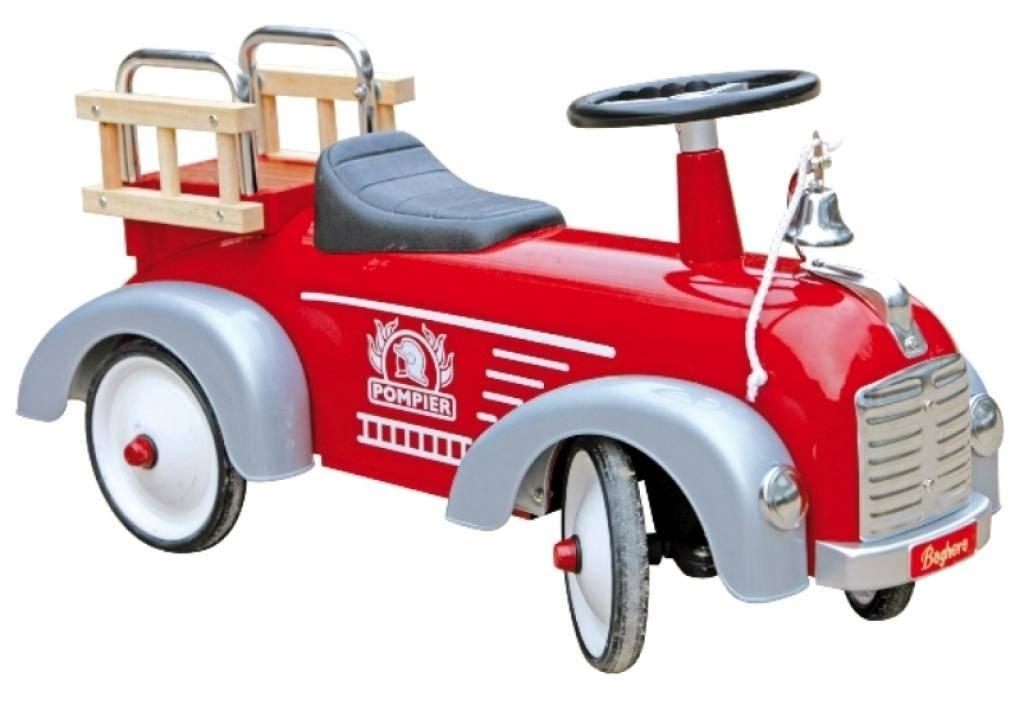 Baghera porteur enfant camion pompier doudouplanet - Camion de pompier enfant ...