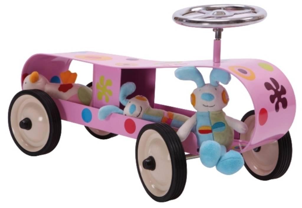 baghera porteur enfant streamline rose doudouplanet. Black Bedroom Furniture Sets. Home Design Ideas