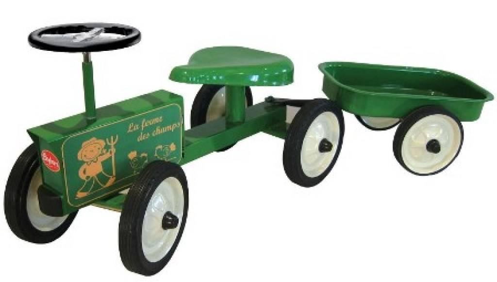 baghera porteur tracteur et sa remorque. Black Bedroom Furniture Sets. Home Design Ideas