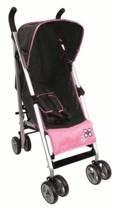 babysun nursery poussette canne grise et rose. Black Bedroom Furniture Sets. Home Design Ideas