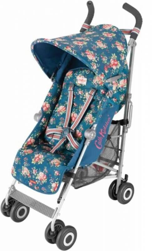 maclaren poussette canne quest cath kidston blue spray floral. Black Bedroom Furniture Sets. Home Design Ideas