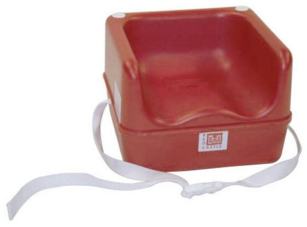 Red castle r hausseur baby sit up rouge - Housse chaise haute red castle ...