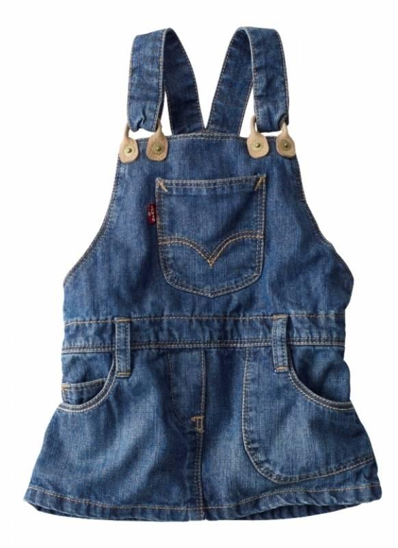 Levis Robe Jeans Teri Fille 18 Mois Doudouplanet