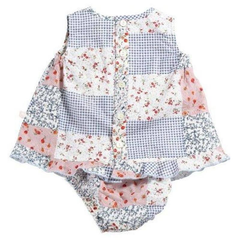 Noukies robe patchwork belle lola 6 mois for Plante 6 mois