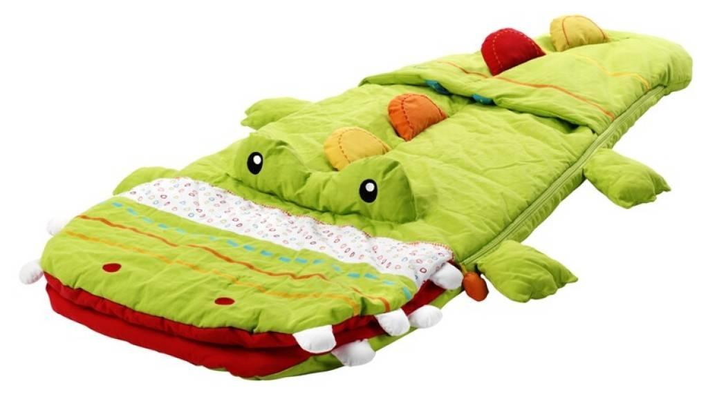 lilliputiens sac de couchage crocodile th ophile. Black Bedroom Furniture Sets. Home Design Ideas