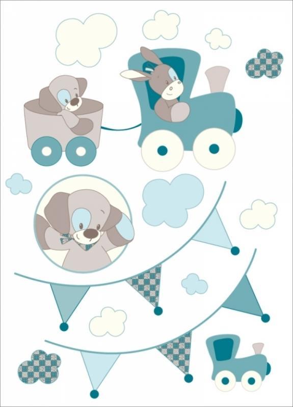 Nattou  Stickers gaston et cyril Doudouplanet