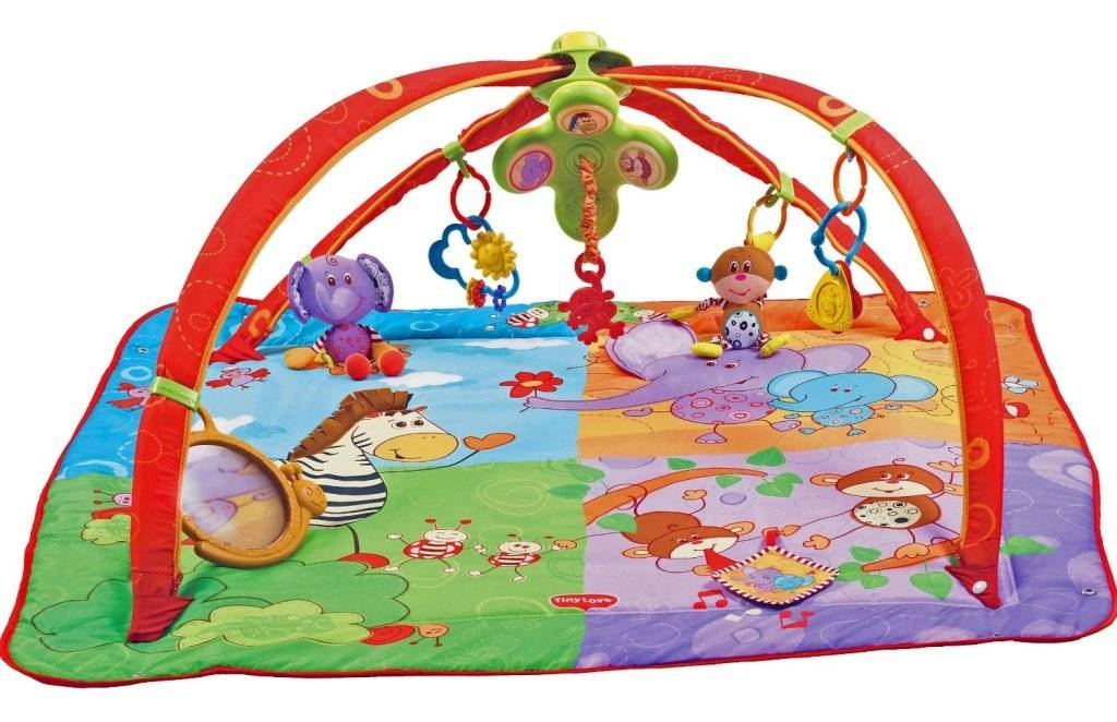 Tiny love tapis eveil giminy move and play 5 en 1 - Tapis d eveil tiny love move and play ...