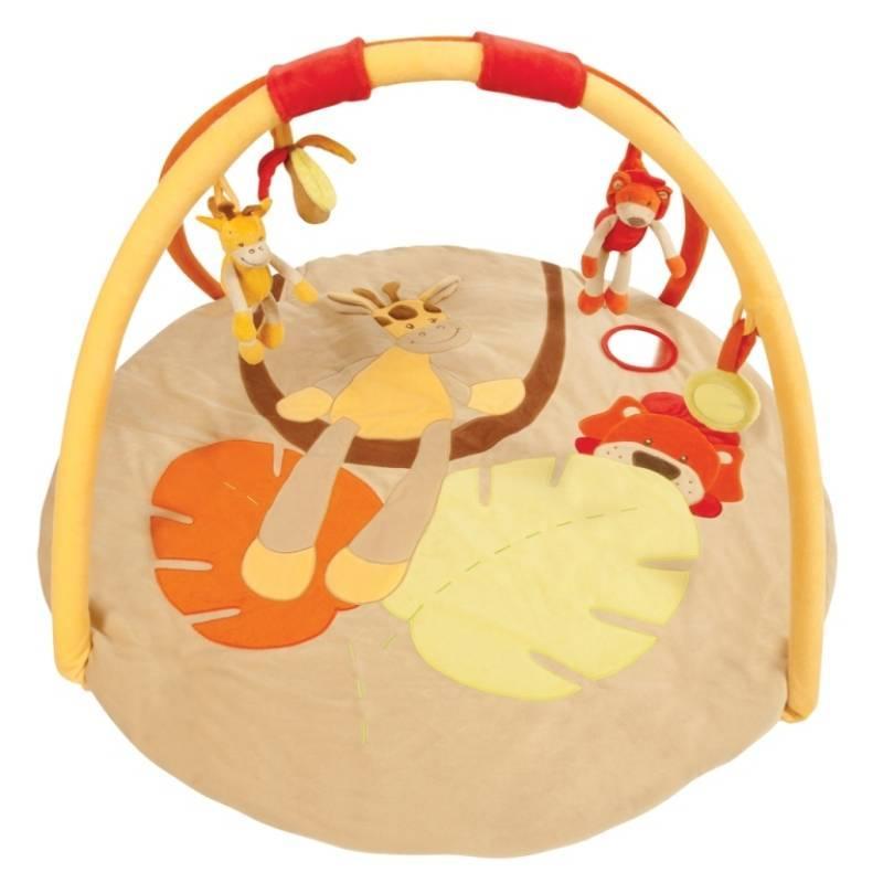 nattou tapis eveil girafe jungle doudouplanet. Black Bedroom Furniture Sets. Home Design Ideas