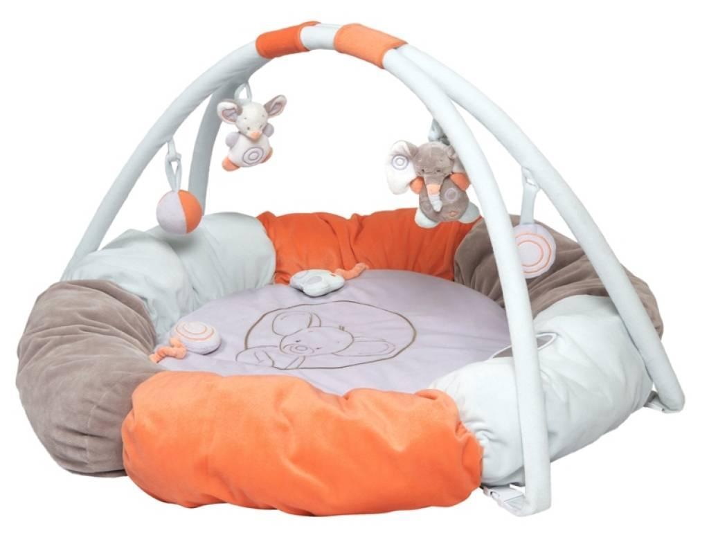 nattou tapis eveil pouf bubbles doudouplanet. Black Bedroom Furniture Sets. Home Design Ideas