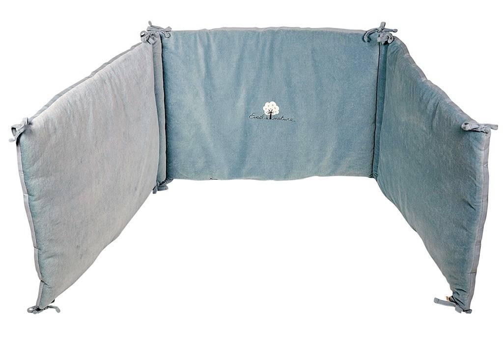 eveil et nature tour de lit biologique aqua. Black Bedroom Furniture Sets. Home Design Ideas