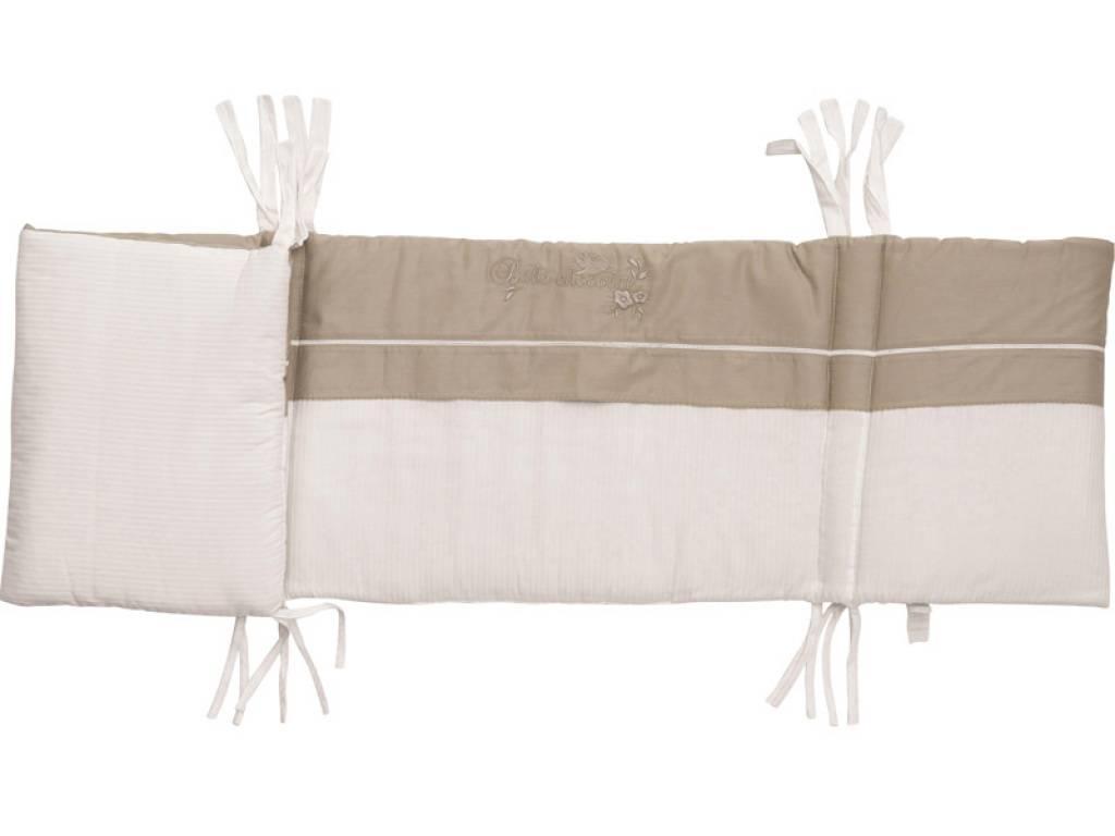 b b chocolat tour de lit chocolat blanc. Black Bedroom Furniture Sets. Home Design Ideas