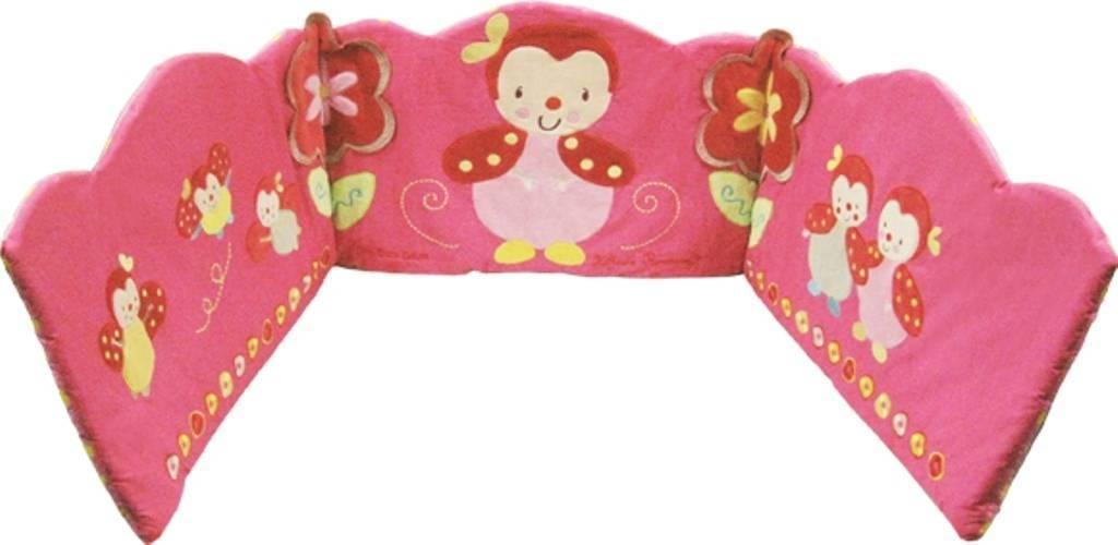 babycalin tour de lit coccinelle lili doudouplanet. Black Bedroom Furniture Sets. Home Design Ideas