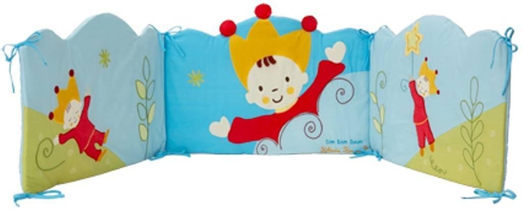 babycalin tour de lit petit roi doudouplanet. Black Bedroom Furniture Sets. Home Design Ideas