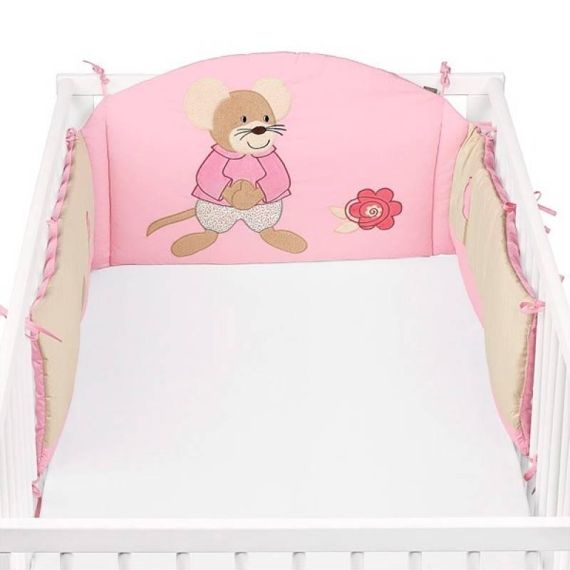 sterntaler tour de lit souris milly doudouplanet. Black Bedroom Furniture Sets. Home Design Ideas