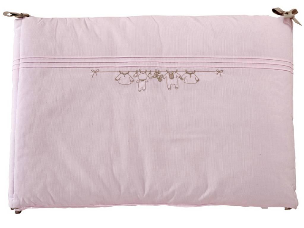 tartine et chocolat tour de lit trousseau rose. Black Bedroom Furniture Sets. Home Design Ideas