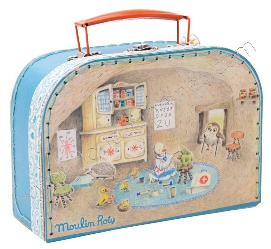 moulin roty valise docteur la grande famille. Black Bedroom Furniture Sets. Home Design Ideas