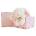 Doudou et Compagnie Peluche Lapin Bonbon Rose 30 cm