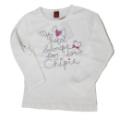 Chipie Tee-Shirt Manches Longues Basic Blanc - 4 ans