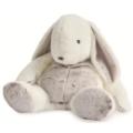 Babynat Peluche Lapin Flocons Range Pyjama - 40 cm