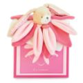 Doudou et Compagnie Doudou Lapin Rose Collector - 28 cm