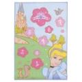 Fun House Tapis Marelle Princesses 80x120 cm