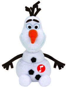 Peluche Sonore Olaf - 20 cm