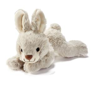 Peluche Lapin Couché - 22 cm