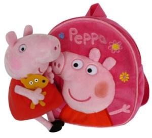 Coffret Sac à Dos + Peluche Peppa Pig