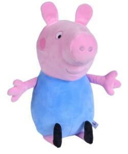 Peluche Georges Pig - 31 cm