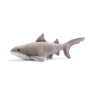 Peluche Grand Requin Blanc 33 cm