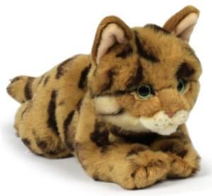 Peluche Chat du Bengal - 22 cm