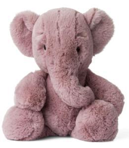 Peluche Eléphant Ebu Rose - 29 cm