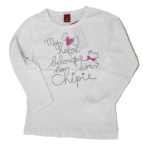 Tee-Shirt Manches Longues Basic Blanc - 4 ans