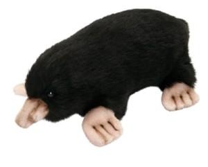 Peluche Taupe - 21 cm