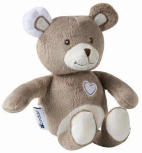 Peluche Ours Basile - 20 cm