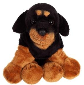 Peluche Chien Rottweiler Floppipup - 22 cm