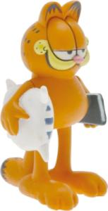 Figurine Garfield Oreiller et Livre