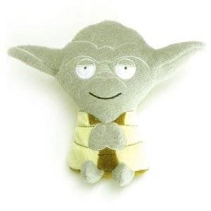 Peluche Plate Yoda Star Wars - 15 cm