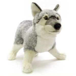Peluche Loup Ushuaïa - 40  cm