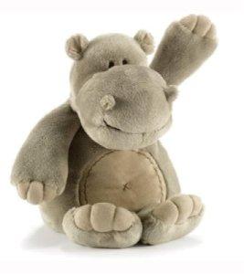 Peluche Animadoo Hippo 24 cm